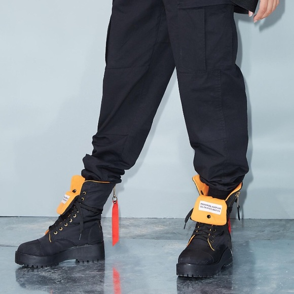 Poster Grl Combat Flight Boots   Poshmark